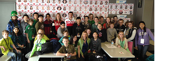 Canadian olympic athletes - Kid Casters